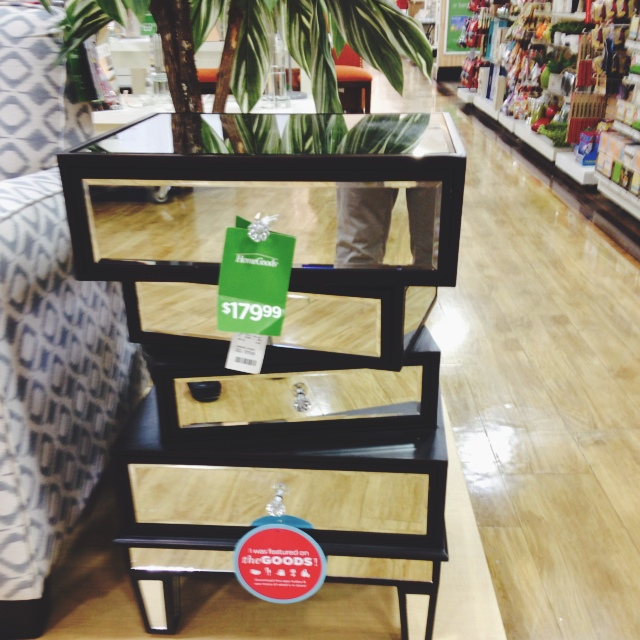 The homegoods mobile application unique end table for Home goods mobile