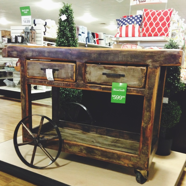 The homegoods mobile application solid wood cart for Home goods mobile
