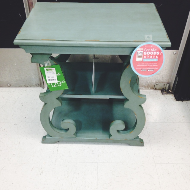 The homegoods mobile application small teal nightstand table for Home goods in yonkers