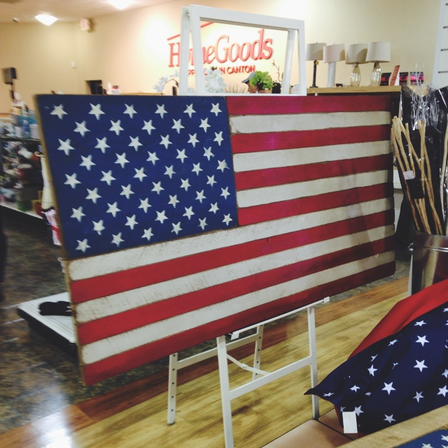 Wall Decor At Homegoods : The homegoods mobile application american flag wall decor