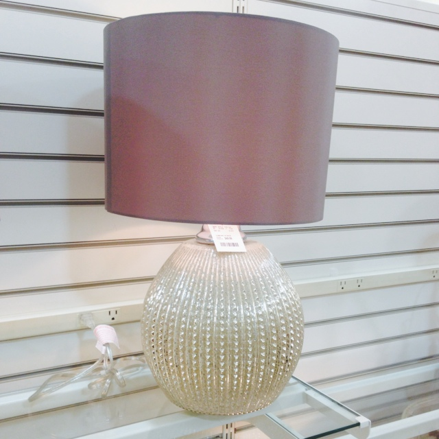 The homegoods mobile application gold glass lamp for Home goods mobile