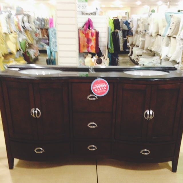 The homegoods mobile application 62 stone top double vanity for Home goods mobile