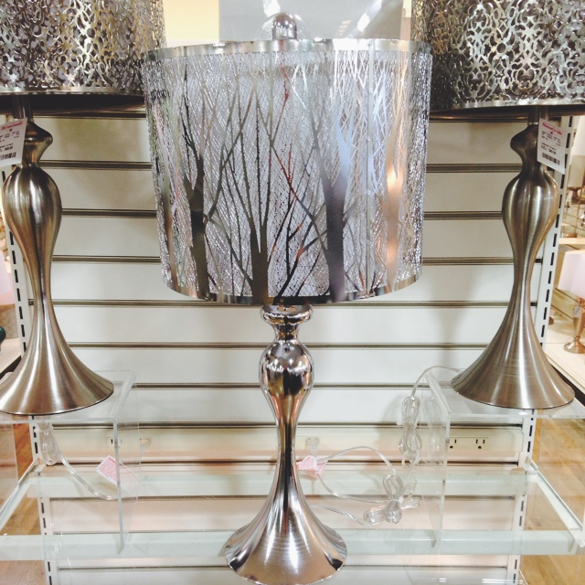 The homegoods mobile application lamp with metal shade for Home goods mobile
