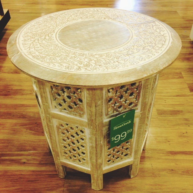 The homegoods mobile application side table for Home goods mobile