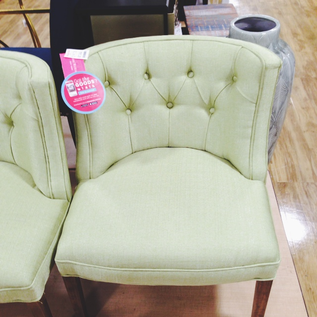 The Homegoods Mobile Application Isaac Mizrahi Accent Chair